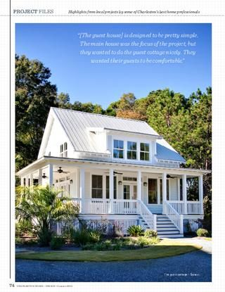 charleston home + design mag. Artistic Design and Construction