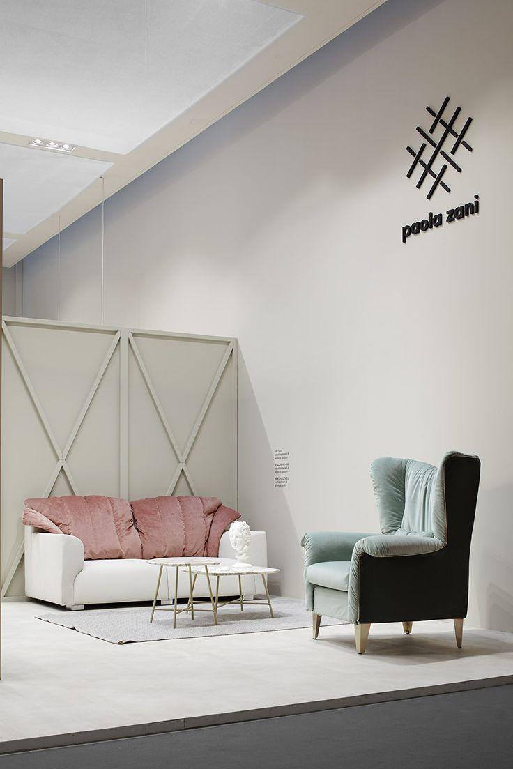 Stelo armchair and leo sofa