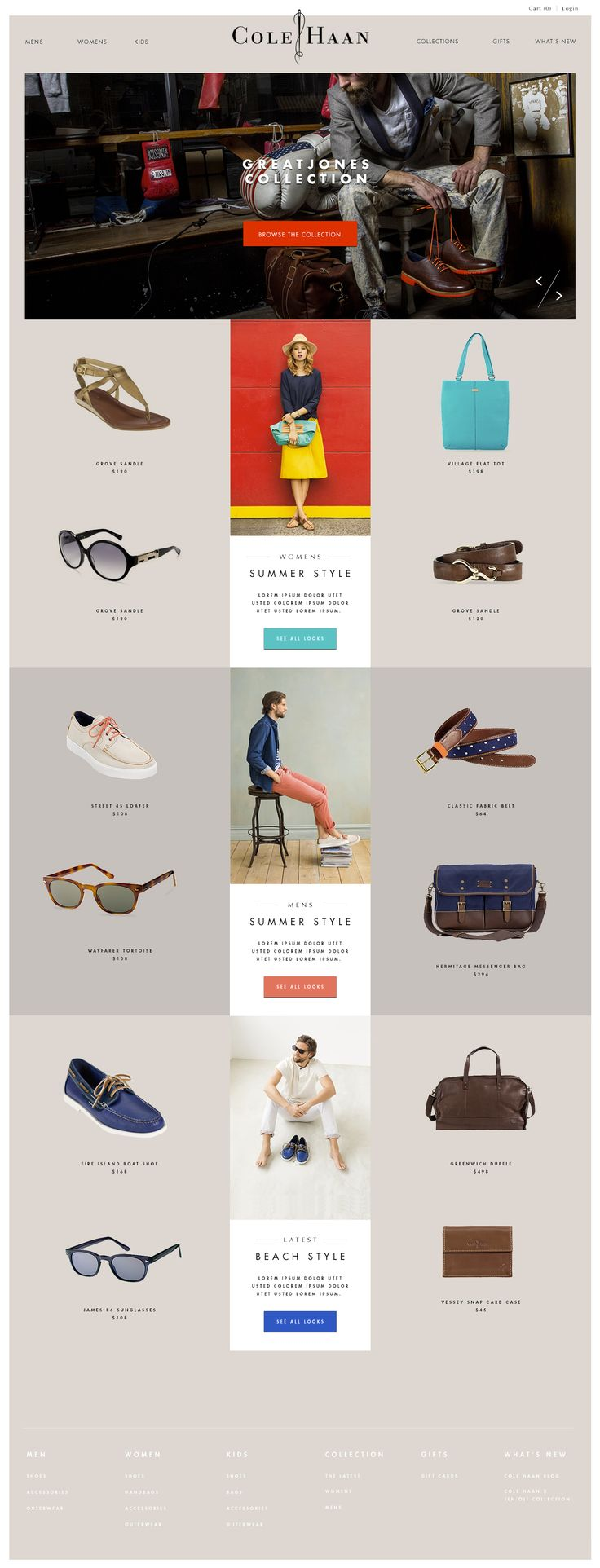 cole_haan_homepage_comp.jpg - note the button colors:  picked from the box image, instead of colored by function.
