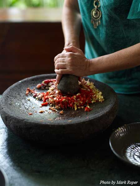 The Casa Luna Cooking School in Bali.  What a great way to experience a new culture!