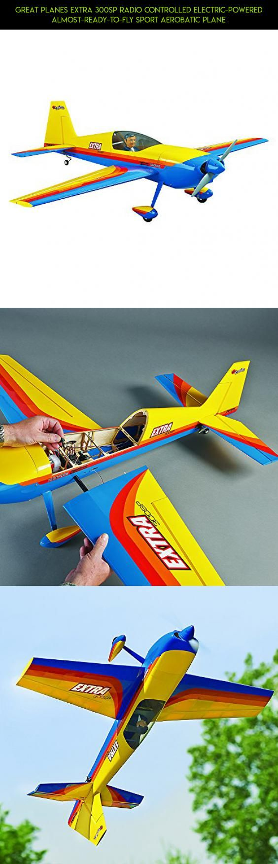 Great Planes Extra 300SP Radio Controlled Electric-Powered Almost-Ready-to-Fly Sport Aerobatic Plane #fpv #parts #technology #camera #gadgets #great #shopping #drone #extra #racing #planes #tech #products #kit #plans