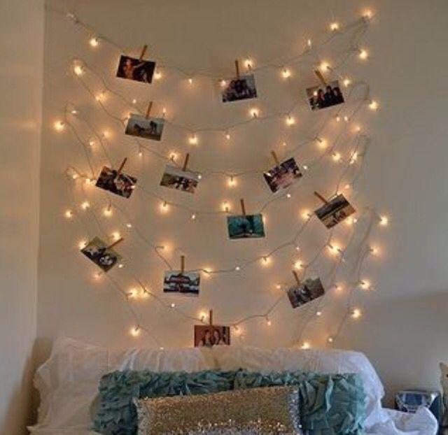 Light polaroid photo hanger Crafts for teenage rooms Pinterest Photos, Polaroid photos and ...