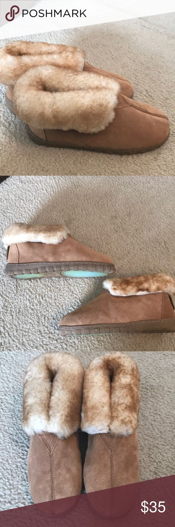 Cloud Nine Sheepskin slippers Brand new.  Real sheepskin.  Soft and comfy. Cloud 9 Shoes Slippers
