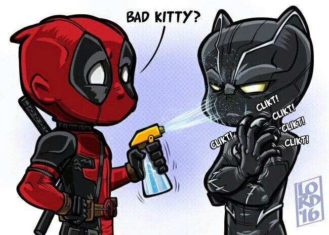 Bad kitty? Deadpool & Black Panther