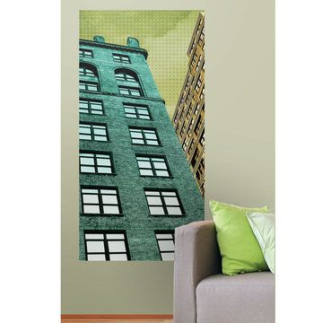 Brownstone Wall Canvas, $35, now featured on Fab.