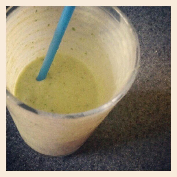 ... Of Champions ⓙ breakfast: skinny green tropical smoothie