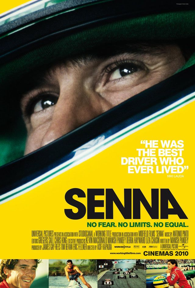 Senna, A Documentary About the Rise & Tragic End of a F1 Racing Star