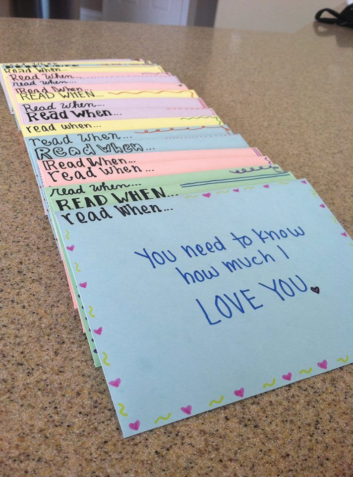 Thoughts of a Missionary Girlfriend: Read When Letters