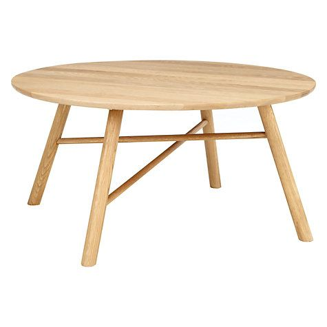 Buy Says Who For John Lewis Why Wood Coffee Table Oak Online At Johnlewis