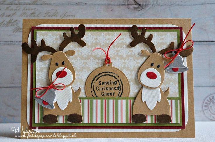 Cards made by Wybrich: Marianne Design challenge 119