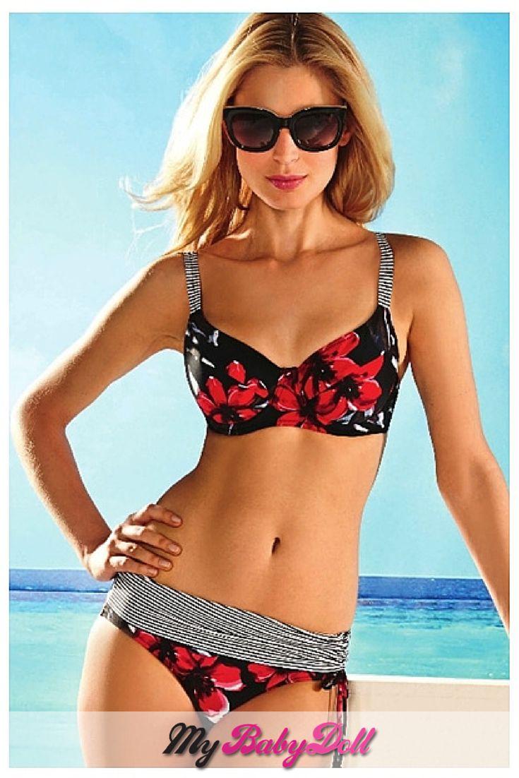 Γυναικείο Μαγιώ Bikini – Susa  Δείτε εδώ > http://mybabydoll.gr/shop/gynaika/magio-bikini-susa-1797/  Γυναικείο bikini μαγιώ της γνωστής γερμανικής εταιρείας Susa σε Cup C με λεπτή επένδυση. Floral σχέδιο, με τέλεια εφαρμογή, άνεση και κομψότητα.