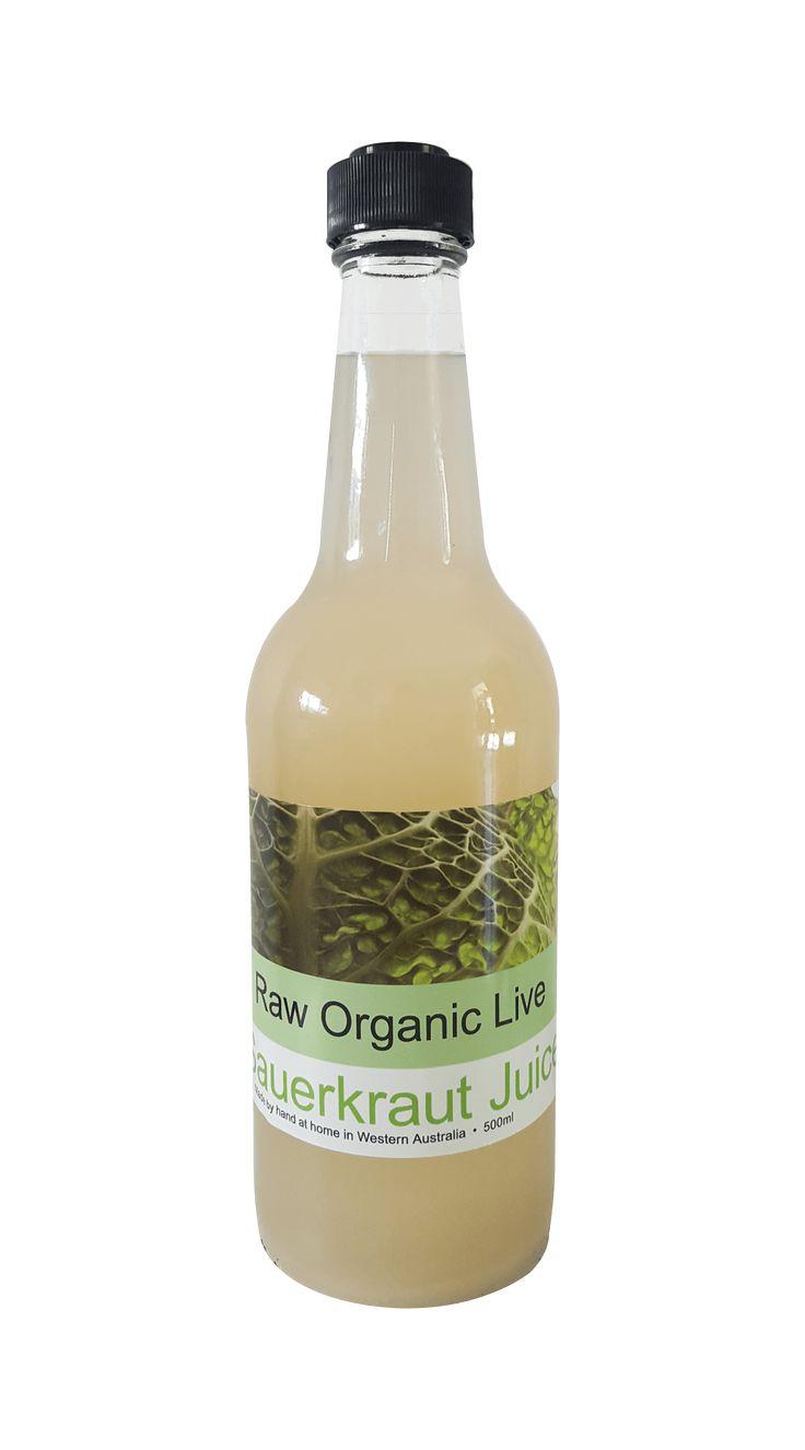 Organic Bio Kraut Sauerkraut Juice.......Organic Bio Kraut Sauerkraut Juice - 500ml