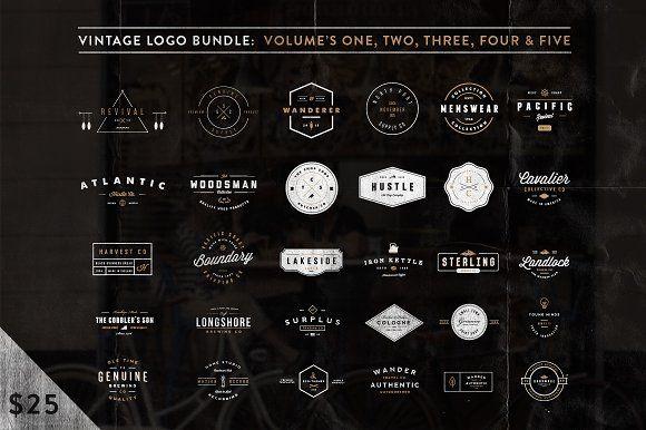 Vintage Bundle (Limited) by Hustle Supply Co. on @creativemarket