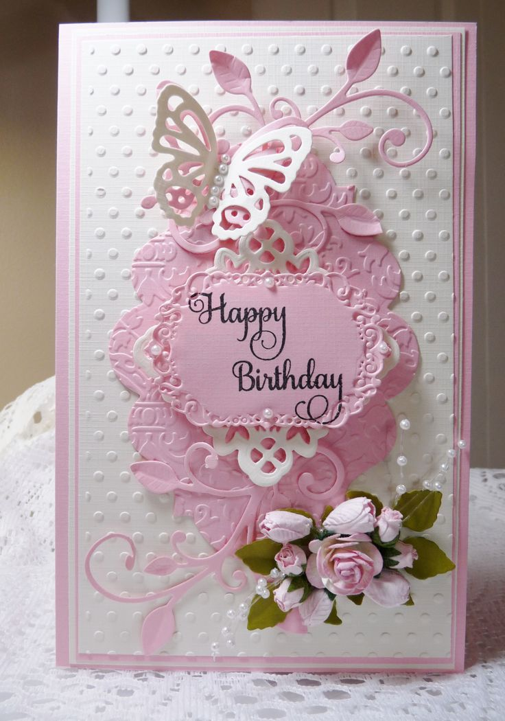 Birthday Card - Essential products for this project can be found on Crafting.co.uk - for all your crafting needs. - Birthday - Scrapbook.com