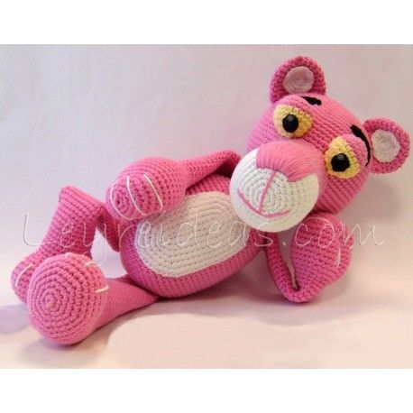 Amigurumi Free Pattern Pink Panther : Patron amigurimi