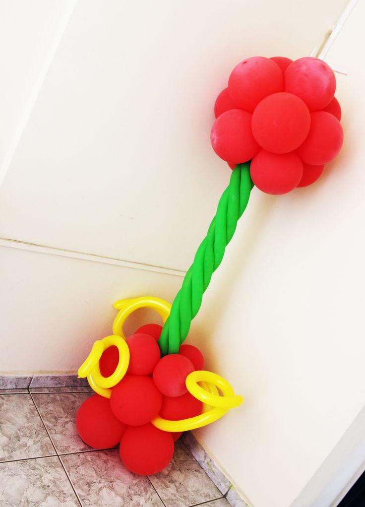 Como Fazer coluna de balão - Torre de Balão decoração tema Circo