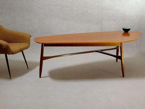 Coffee Table Couchtisch Original 50er 60er Jahredanish Modern 50s