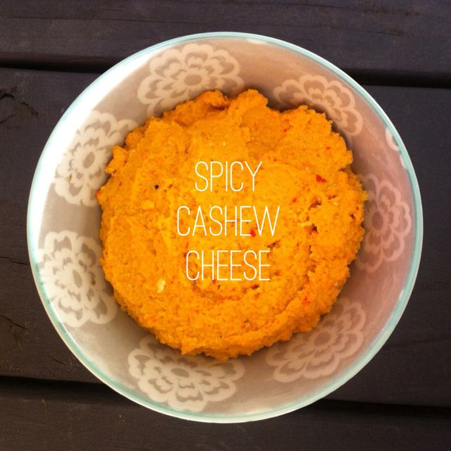 A Simply Raw Life - Raw Spicy Cashew Cheese #rawfood