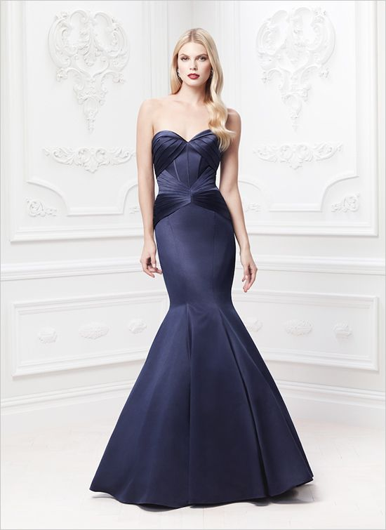 Zac Posen David's Bridal #occasiondress #bridesmaid #weddingchicks http://www.weddingchicks.com/2014/02/18/zac-posen-wedding-gowns/
