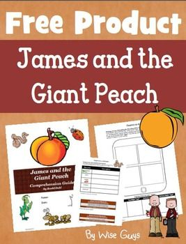 Free Downloads! James and the Giant Peach Novel UnitThis is a reading comprehension activity guide and answer key for James and the Giant Peach by Roald Dahl.  It contains 28 pages of activities ( 57 total pages including the answer key, assessments, and scoring rubrics).