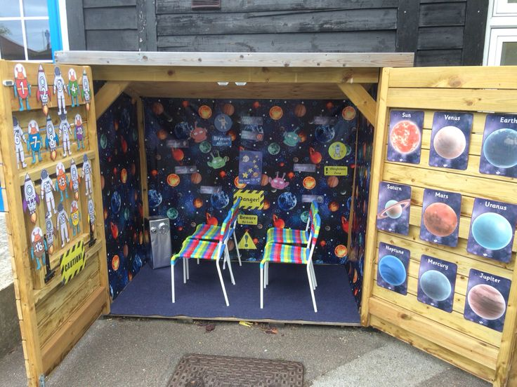 Space role play shed 1