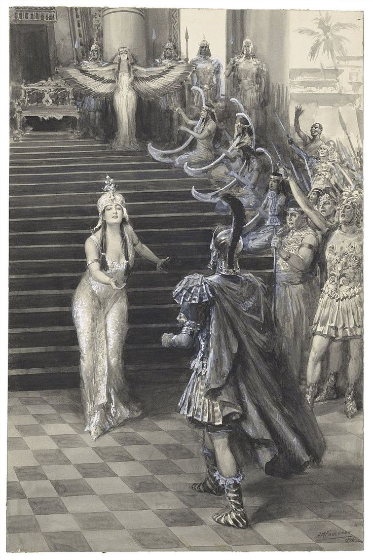 best images about shakespeare and art the two cleopatra greets antony antony and cleopatra faulkner