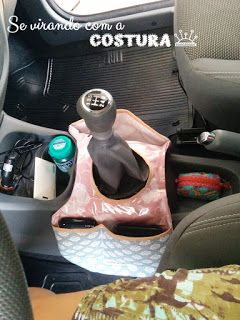 lixeira para carro