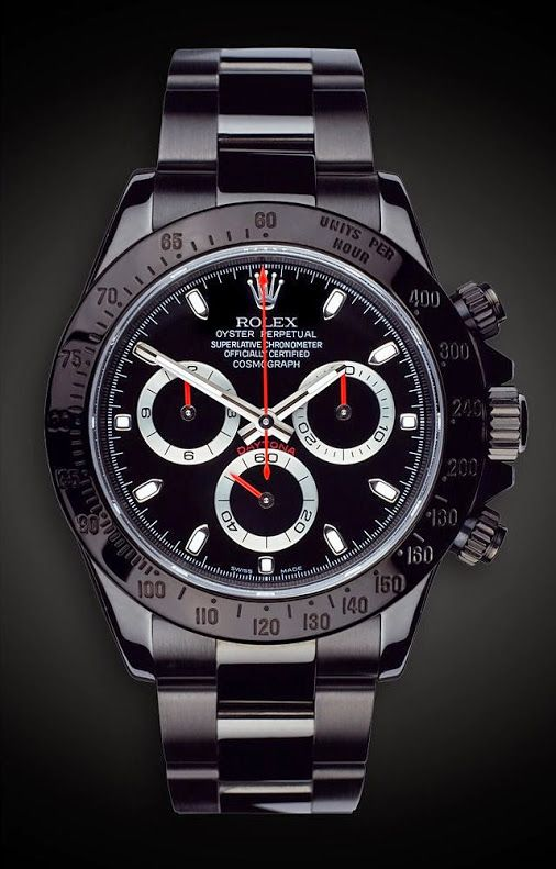LifeStyle By You.... - Style - Men - ชุมชน - Google+...Rolex _ Daytona StealthTitan Black _ saat | DAVID