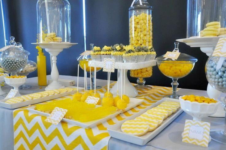 baby shower themes yellow baby shower