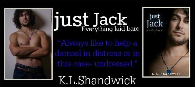 Book Nook Nuts: Cover Reveal - just Jack by K.L. Shandwick