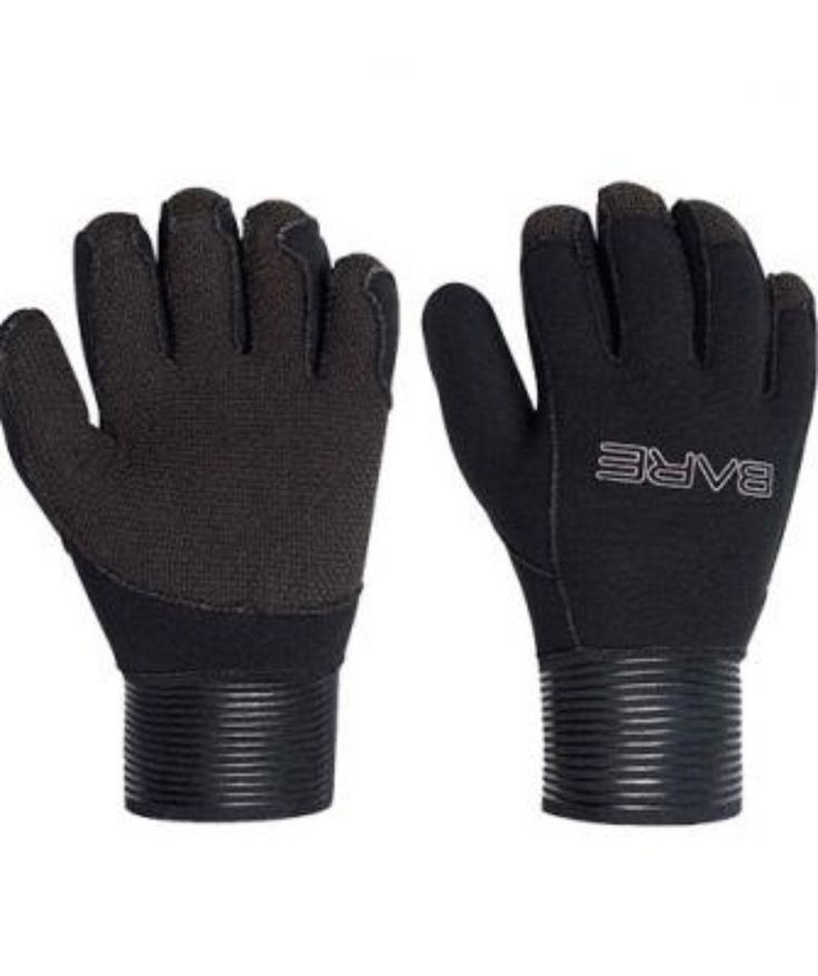 Gloves 114235: 5Mm Bare Pro Sd Scuba Diving Gloves With Kevlar Palm Size Large Black Dive Glove -> BUY IT NOW ONLY: $37.98 on eBay!