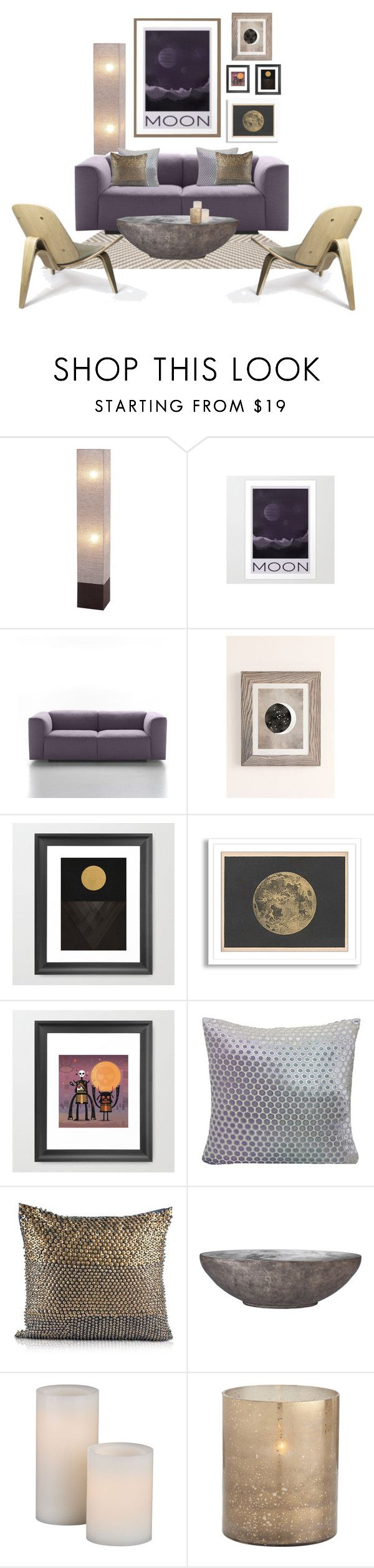 Moon by she-kills-monsters on Polyvore featuring interior, interiors, interior design, home, home decor, interior decorating, McGuire, Pyar & Co., Kevin O'Brien and Arteriors