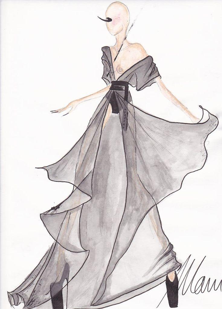 fashion sketches | FASHION SKETCH by Mani - FASHION