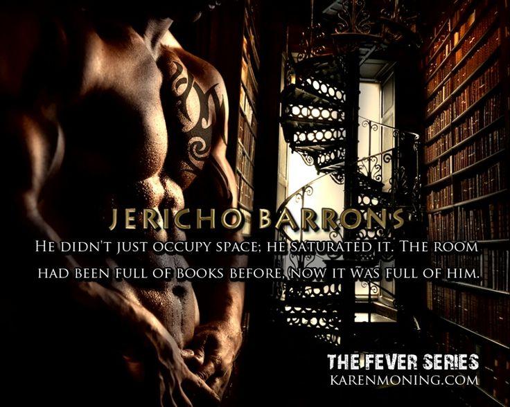 Bloodfever by Karen Marie Moning Jericho Barrons.