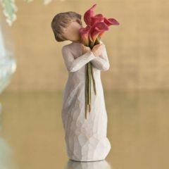 Çiçek | Bloom - Sanatçı Susan Lordi tarafından tasarlanan bu figüratif heykeller, vücut hareketleri yoluyla duygularınızı en güzel şekilde ifade edecekler... Ölçüler: 14 cm