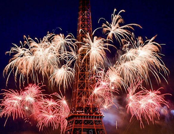 the louvre bastille day
