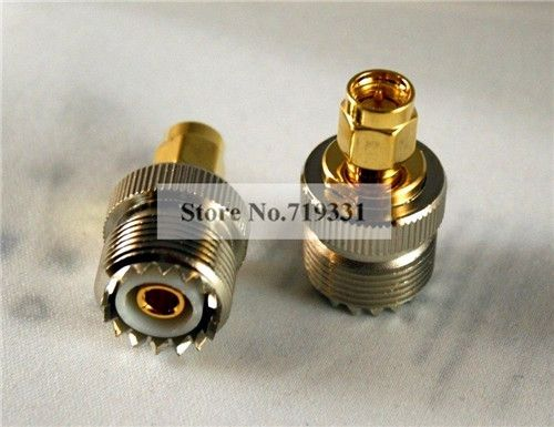 28.49$  Buy now - 10pcs Adapter SO239 UHF Female Jack to SMA Plug Male RF Connector Straight  #SHOPPING