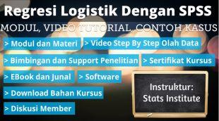 Regresi Logistik Dengan SPSS: Modul, Tutorial, Contoh Soal