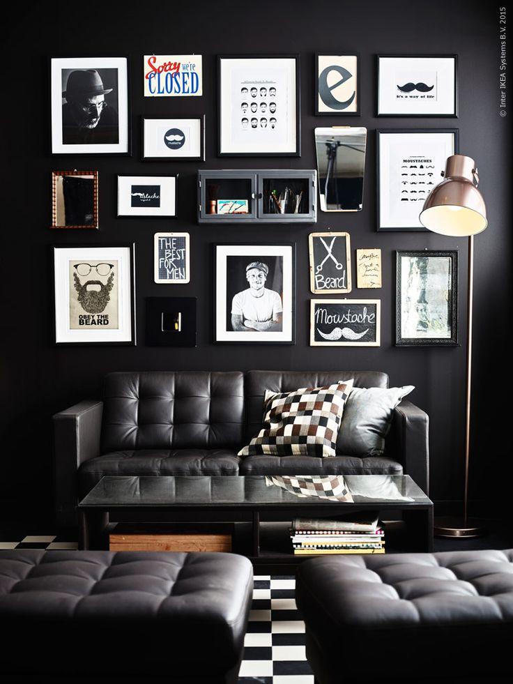 Sitt skönt och länge i soffserien LANDSKRONA. HEKTAR golvlampa bronsfärgad. Ramar som passar dina motiv hittar du på IKEA.se.