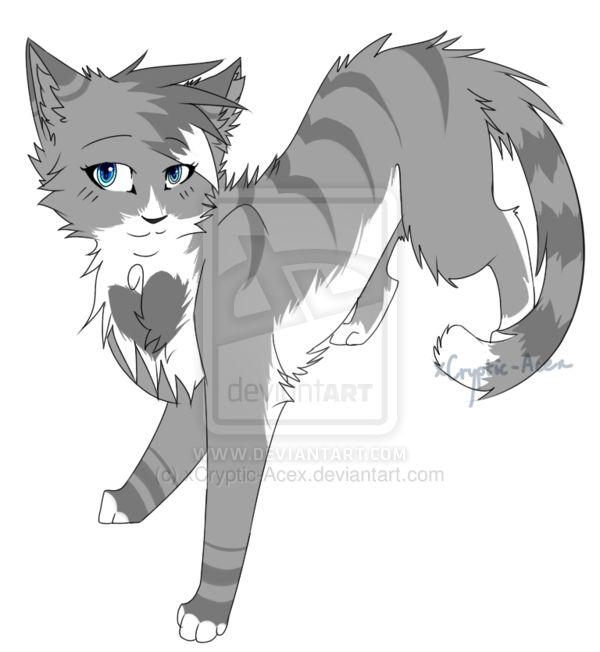 Warrior Cats Kit To Leader Bloodclan: Graypearl (warrior Cat Oc/fan-fic)