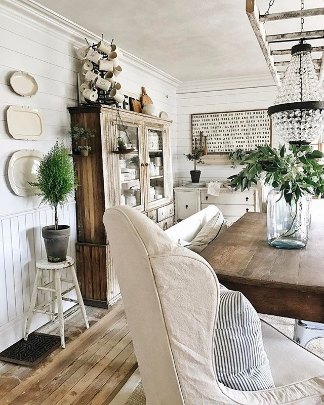 How To Give Any House Farmhouse Style. Farmhouse Living RoomsFarmhouse  ChicFarmhouse ...