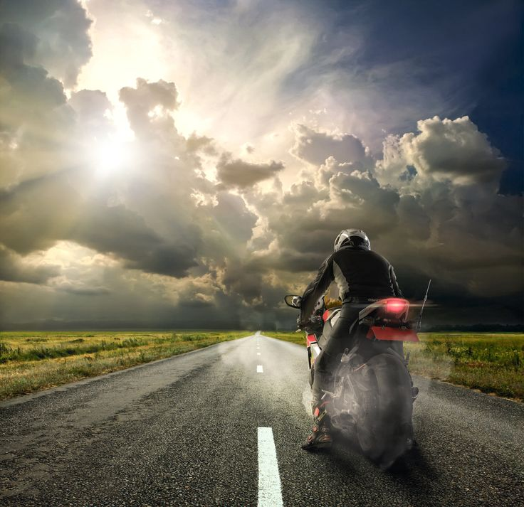 The open road   [ Motorbike HDR ]
