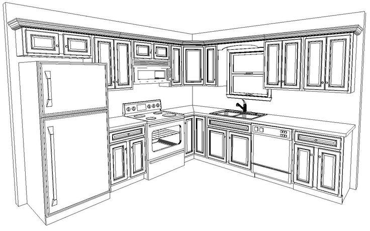 Best 25 10x10 Kitchen Ideas On Pinterest Kitchen Layout