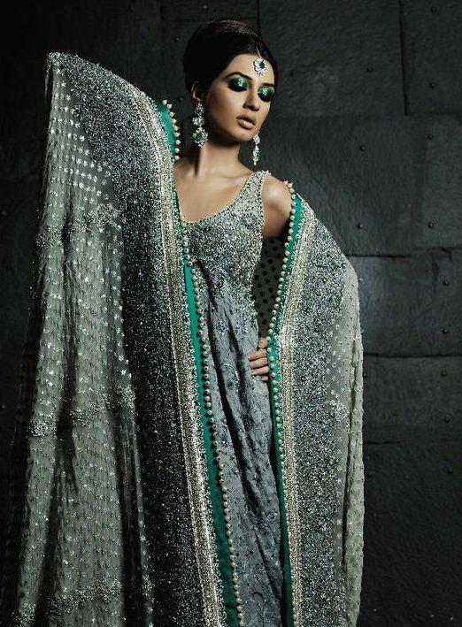 Umar Sayeed Pakistani Bridal Collection Model: Iman