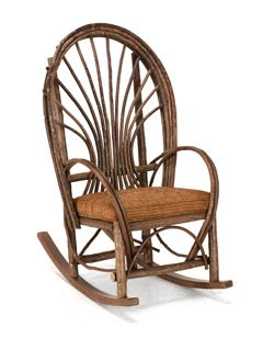New La Blog post: Rock On! Making a Design Statement with Rustic Rocking Chairs. #rustic #rockingchairs