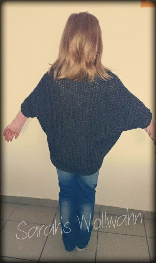 Sarahs Wollwahn Der Seelenwärmer Knittingcrochet Pinterest