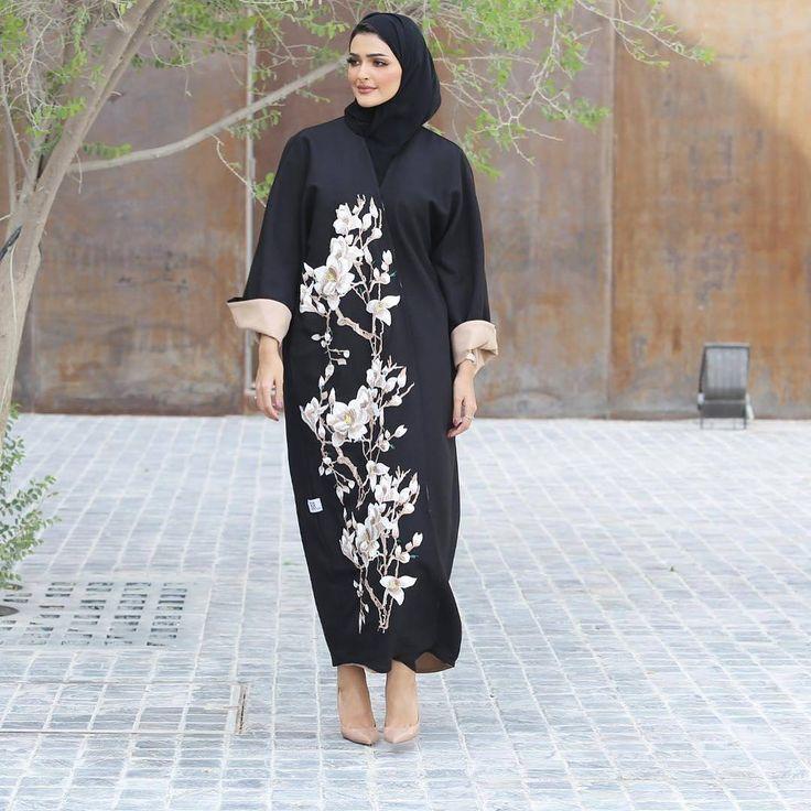 Repost @haneenalsaify with @instatoolsapp ・・・ Get the abaya from @_88line , and heels by @louboutinworld . #abayas #abaya #abayat #mydubai #dubai #SubhanAbayas