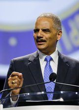 Washington Times 7/18/13   Eric Holder steals George Zimmerman's gun. It is not clear what federal law or legal procedure allows Mr. Holder to stop a police chief in Florida from returning a firearm to an innocent man.