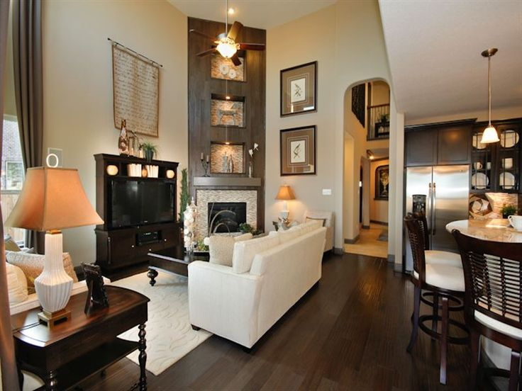Lovely Townhouse Family Room Ideas Part - 7: Decorating Park Model Homes