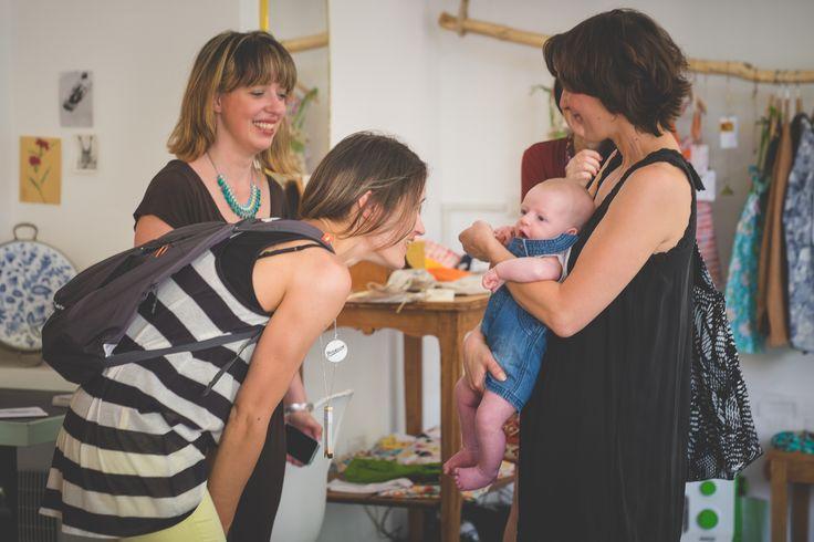 Festa di premiazione del primo concorso nazionale di A Litlle Market Italia : Il trampolino dei creatori (Sono io con il baby!!!)